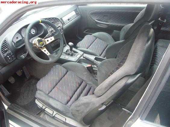 Interior asientos semi baquet backet bmw m3 e36 alcantara for Interior bmw e36