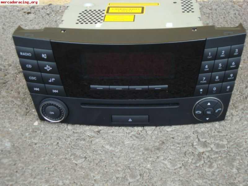 Radio cd mercedes w211 for Mercedes benz ml320 radio code