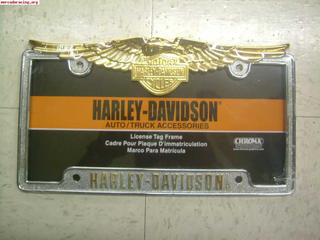 PLACAS DE MATRICULA HARLEY-DAVIDSON
