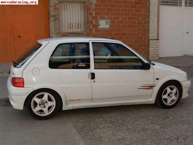 Peugeot 106 Rallye. por peugeot 106 rally de