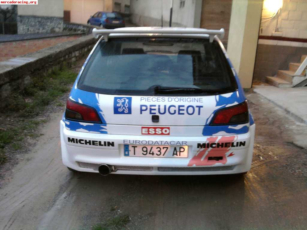 peugeot 306 xsi panizzi replica venta de coches de competici n peugeot. Black Bedroom Furniture Sets. Home Design Ideas