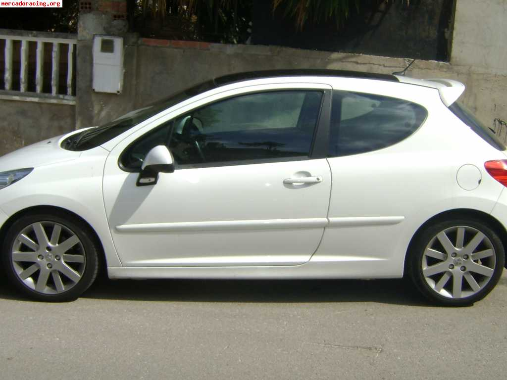 se vende peugeot 207 thp 150 cv venta de coches de competici n peugeot. Black Bedroom Furniture Sets. Home Design Ideas