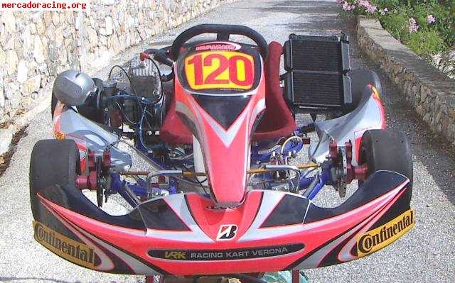 kart 125 6 velocidades segunda mano