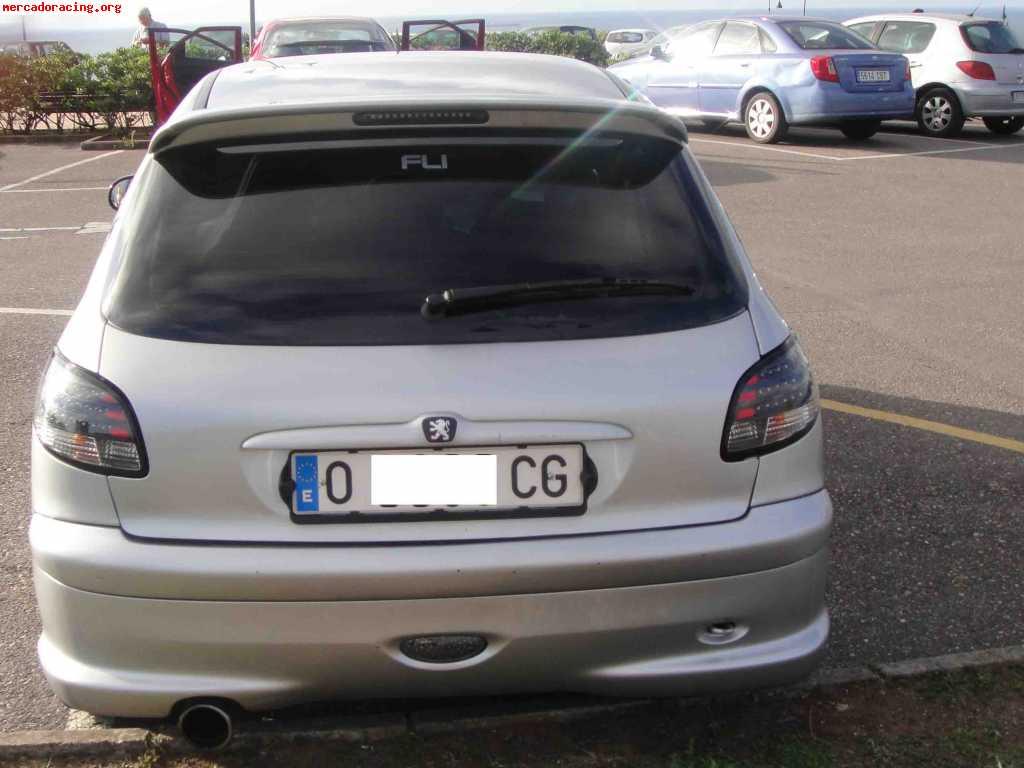 Vendo peugeot 206 xs 1 6 8v 90cv 1999 ofertas veh culos de calle - Alfombras peugeot 206 ...