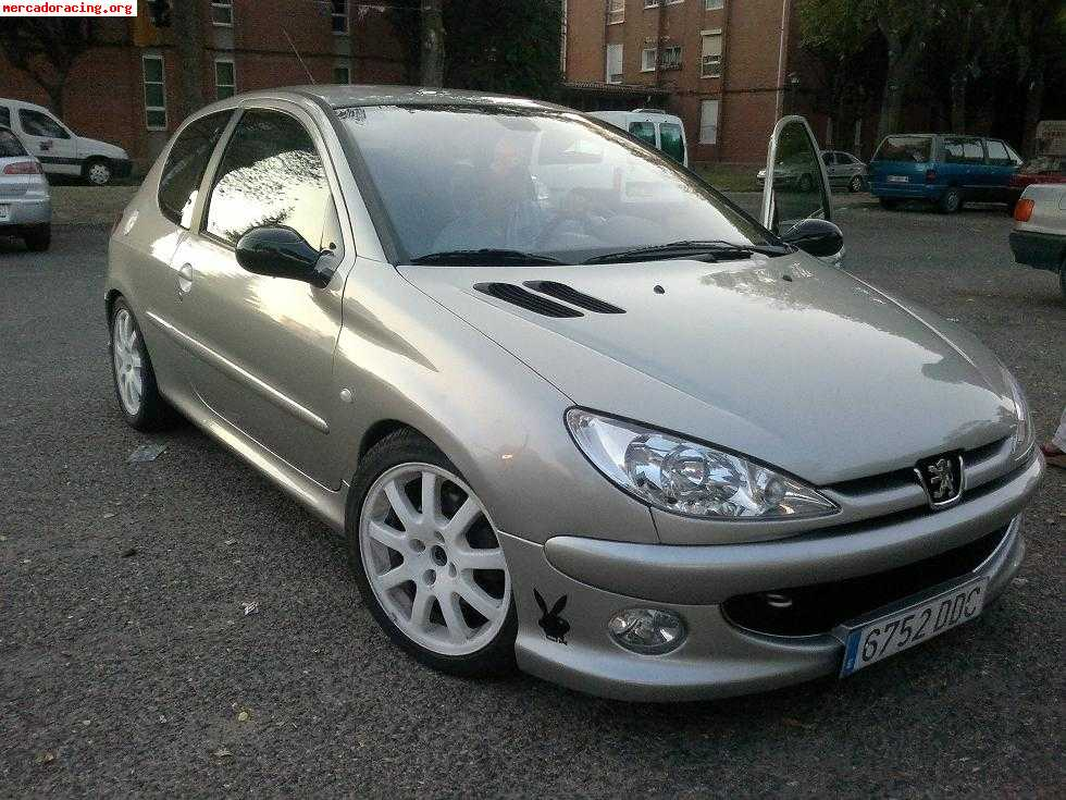 2001 peugeot 206 1 6 xsi related infomation specifications weili automotive network. Black Bedroom Furniture Sets. Home Design Ideas