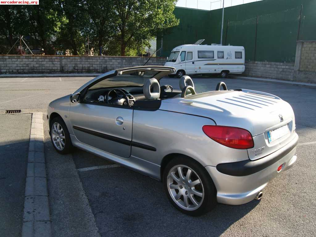 peugeot 206 gti cabrio vendo o cambio ofertas veh culos de calle. Black Bedroom Furniture Sets. Home Design Ideas