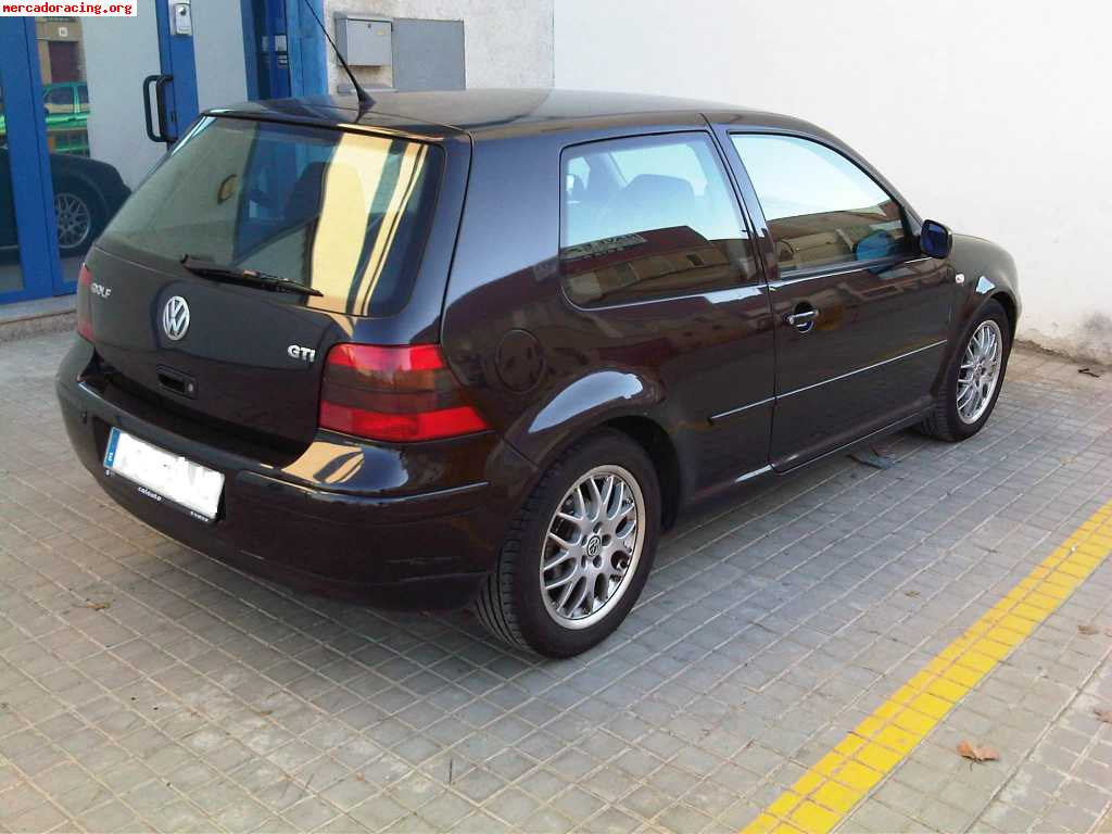 Vendo Golf Iv Gti 1 8 Turbo Edicion Especial 2001