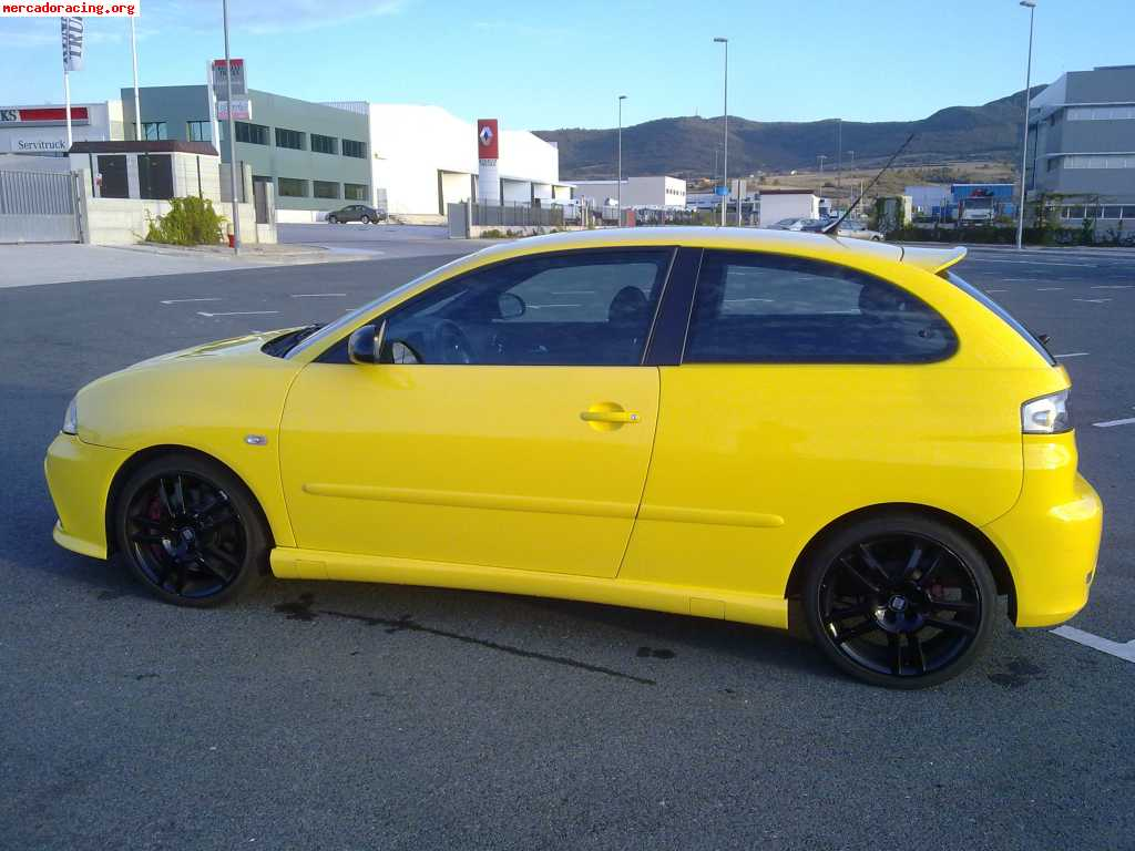 se vende seat ibiza cupra tdi 160cv. Black Bedroom Furniture Sets. Home Design Ideas