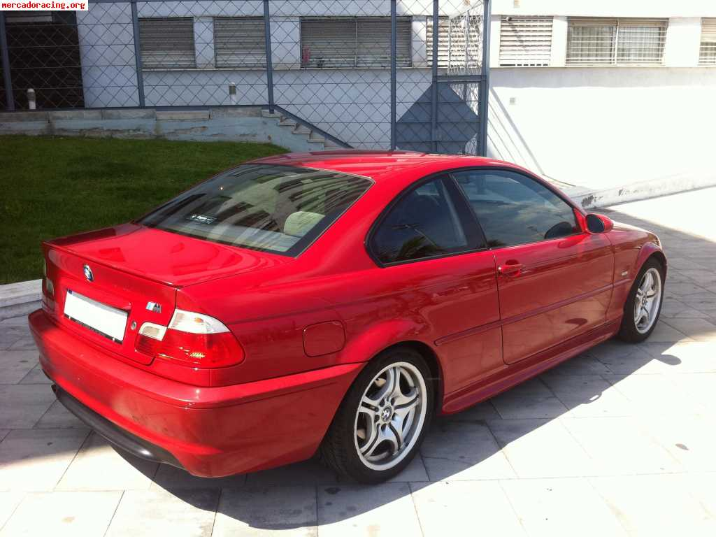 se vende bmw 318ci e46 143cv coupe pack m ofertas. Black Bedroom Furniture Sets. Home Design Ideas
