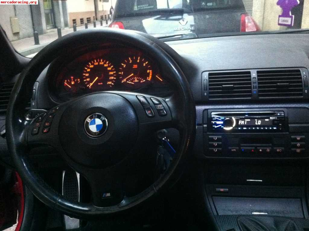 se vende bmw 318ci e46 143cv coupe    pack m