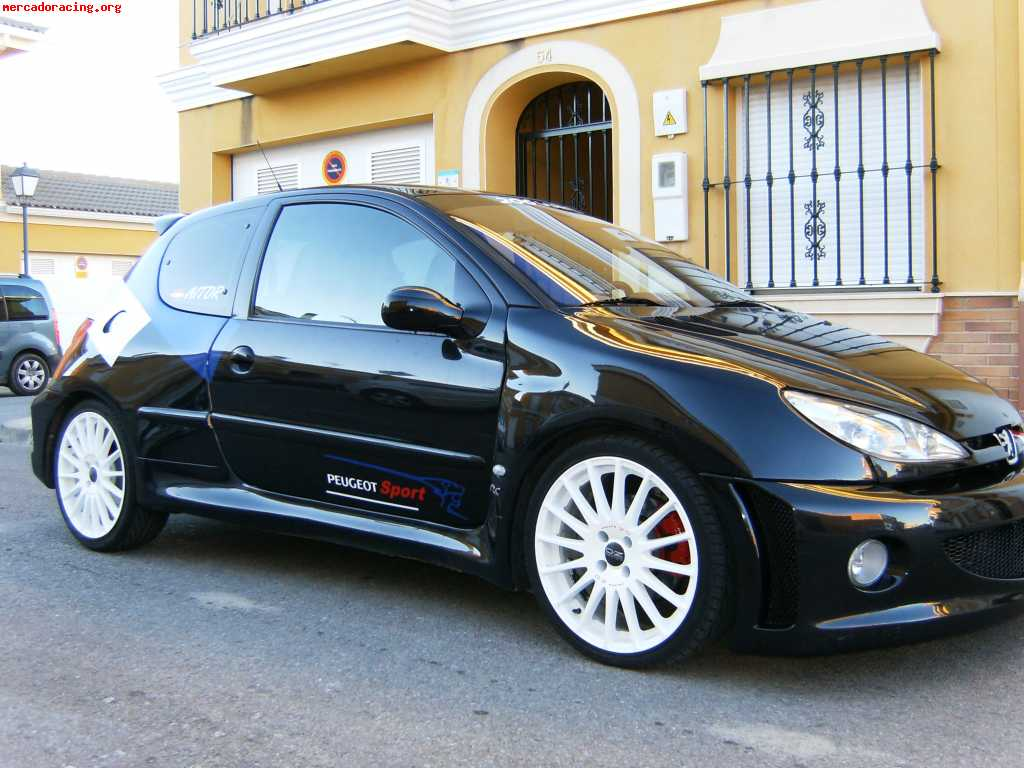 peugeot 206 rc wrc ofertas veh culos de calle. Black Bedroom Furniture Sets. Home Design Ideas