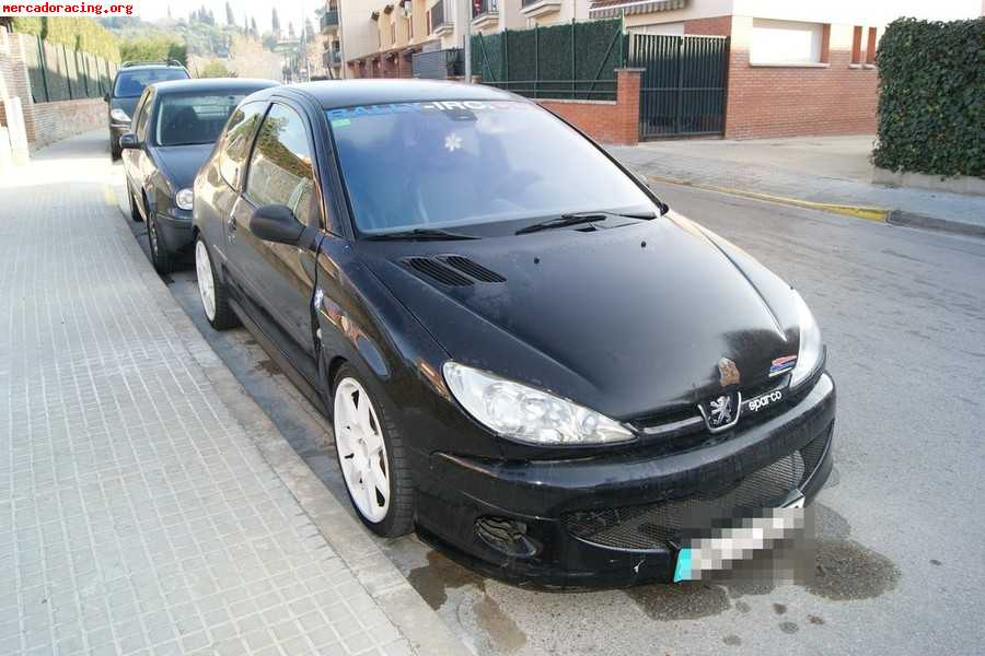 2004 peugeot 206 gti hdi 110 related infomation specifications weili automotive network. Black Bedroom Furniture Sets. Home Design Ideas