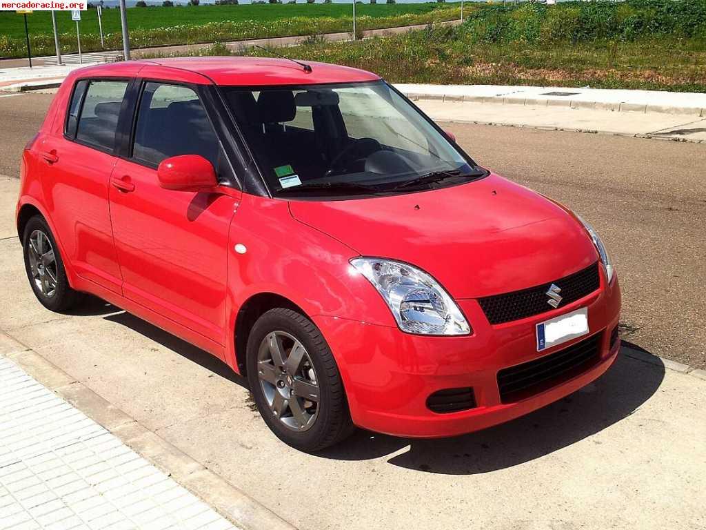 Vendo Suzuki Swift 1.3 Finales 2007 29Mil Kms Rojo 5 Puertas