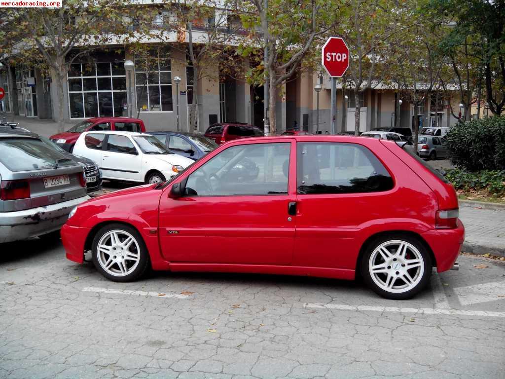 saxo vts 100 cv 2003 rojo 1500