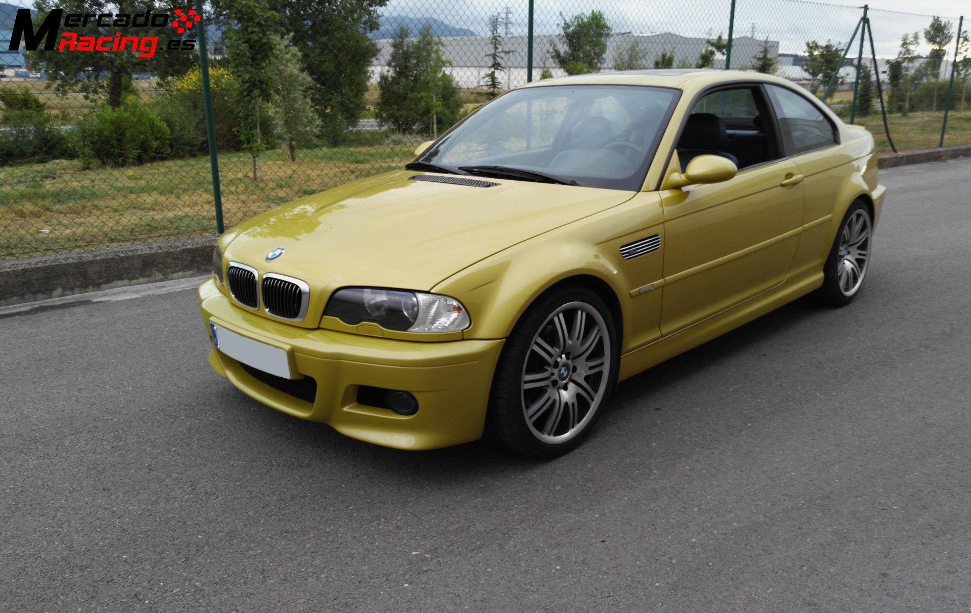 Vendo Bmw M3 E46 343cv Smg Ii Nacional Yellow Phoenix