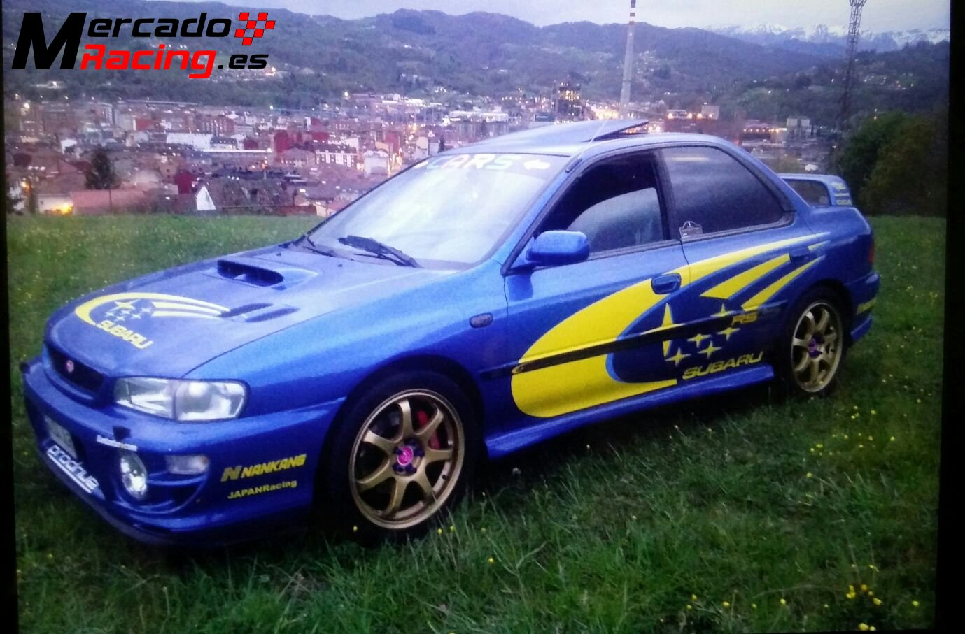 subaru impreza gt turbo 4wd edition limitada. Black Bedroom Furniture Sets. Home Design Ideas