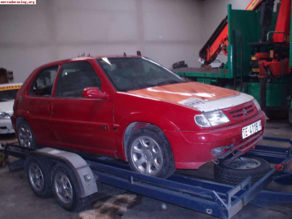 Saxo Vts 8v Motor Roto