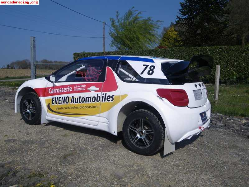 a vendre citroen ds3 autocross rallycross 4x4 venta de. Black Bedroom Furniture Sets. Home Design Ideas