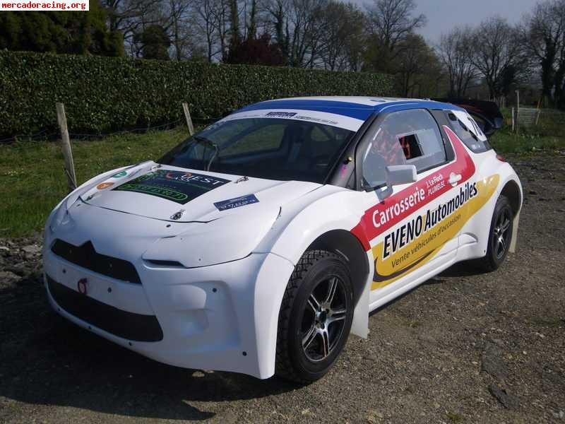 a vendre citroen ds3 autocross rallycross 4x4. Black Bedroom Furniture Sets. Home Design Ideas
