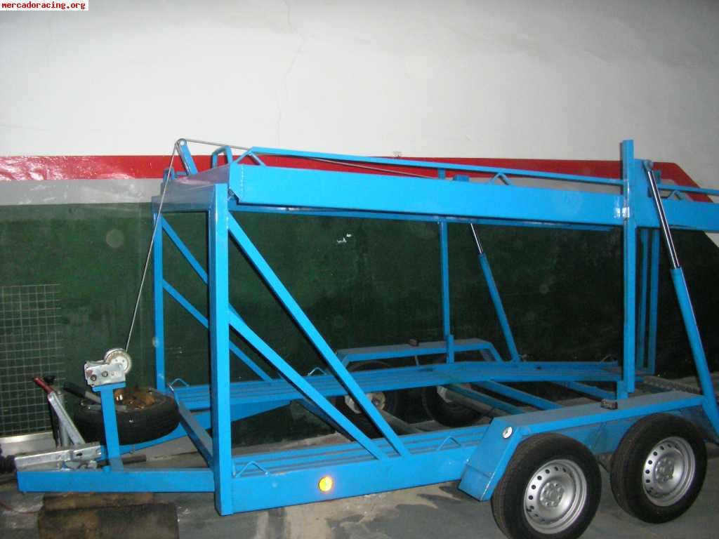 Remolque para transportar 2 coches ofertas y demandas de for Carros para transportar