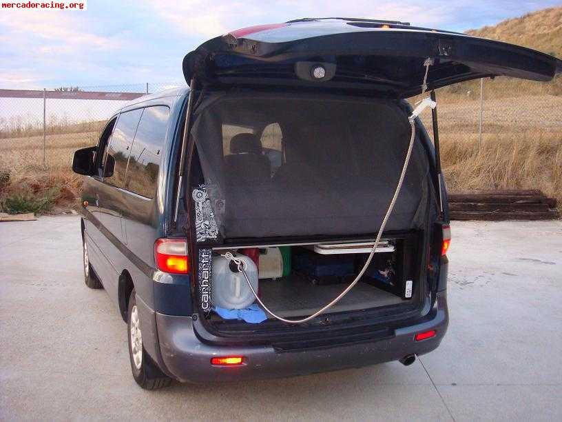 En venta hyundai h1 2 5 td camper ofertas y demandas de for Muebles furgoneta camper