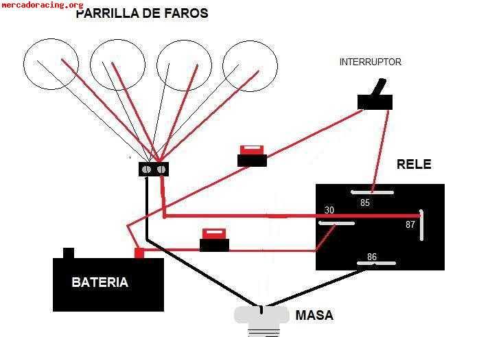 Hacer instalacion electrica de parrilla de faros foro for Como instalar una terma electrica