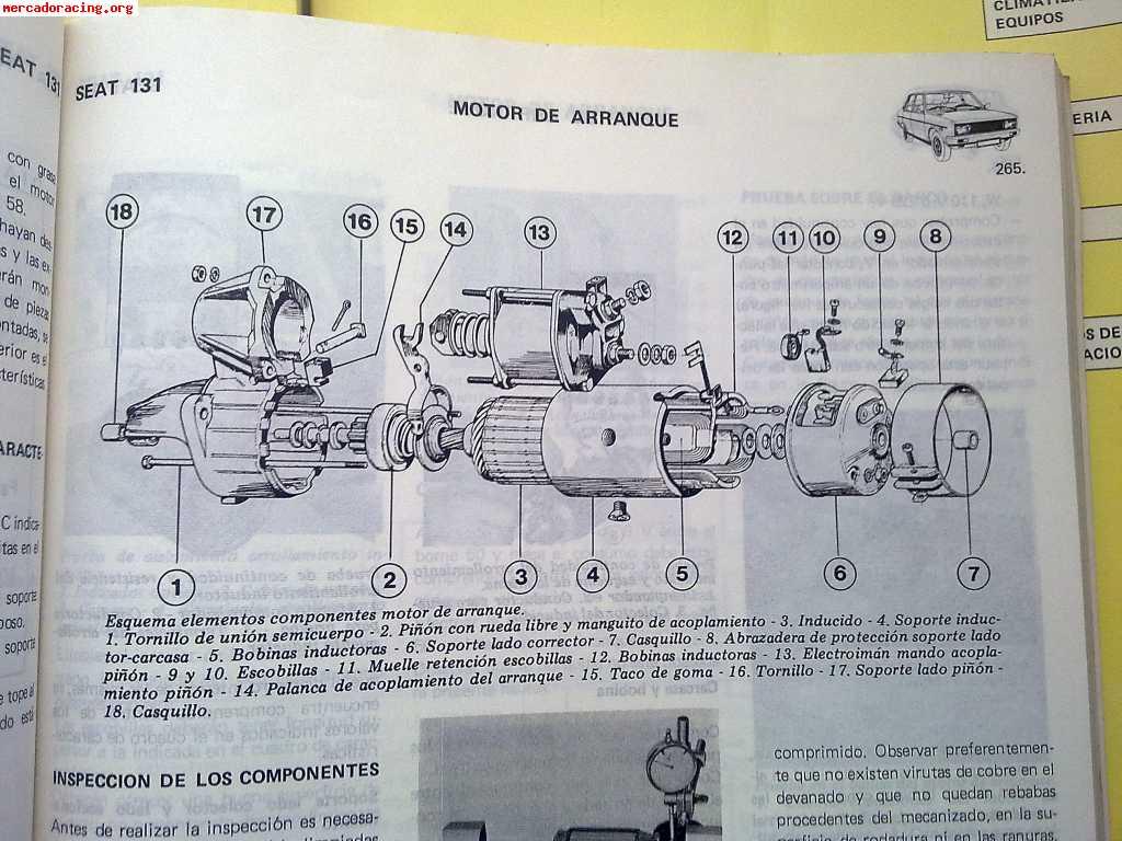 Libro motor manual de taller
