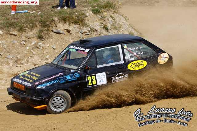 Circuito Xacobeo : Se compra carroceria con barras para autocross
