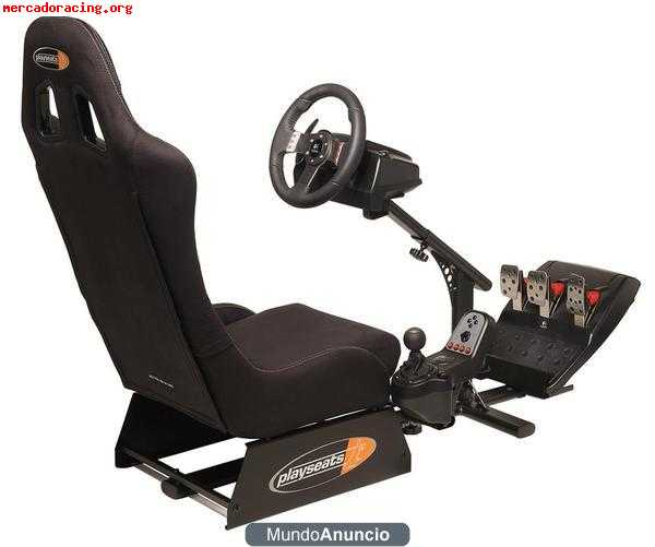 Hola Vendo Asiento Play Seat Y Volante Logitech Para Play 3