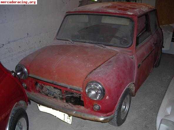 mini 850 para restaurar venta de veh culos y coches cl sicos On mini clasico para restaurar