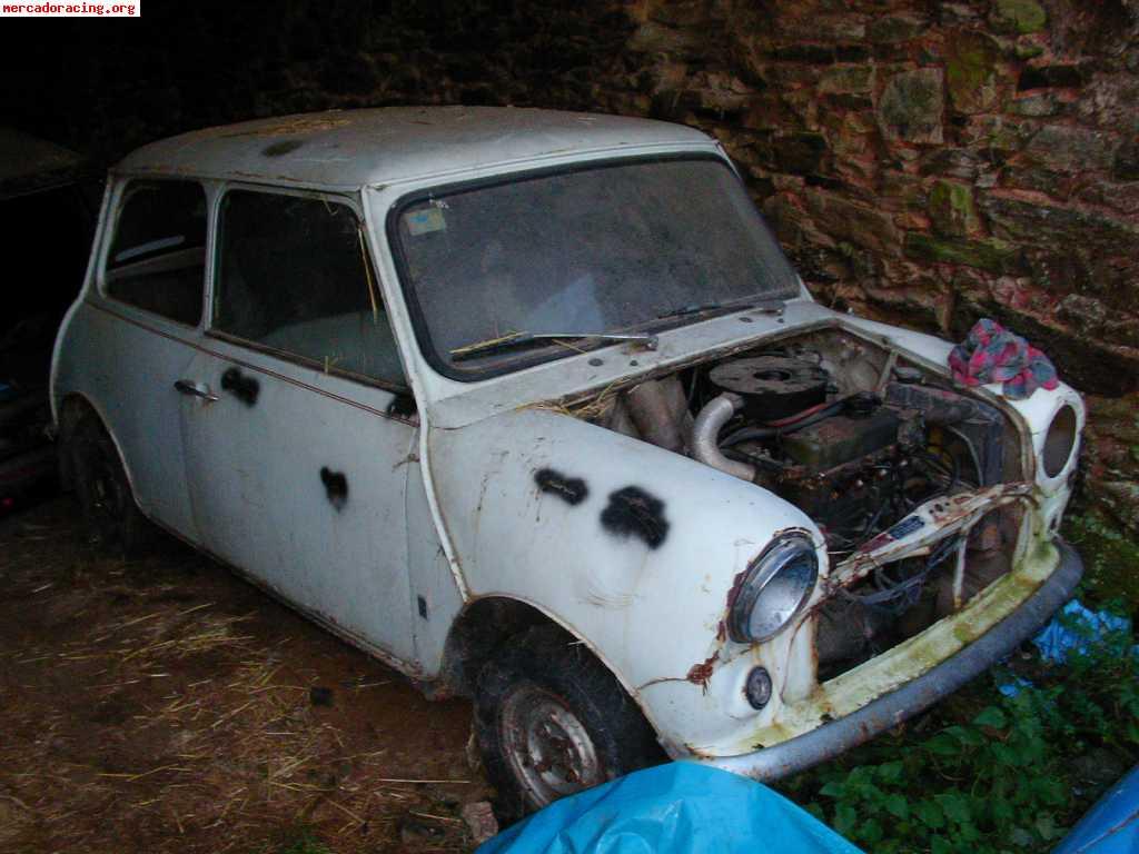 Mini cooper antiguo para restaurar idea de imagen del coche - Clasico para restaurar ...