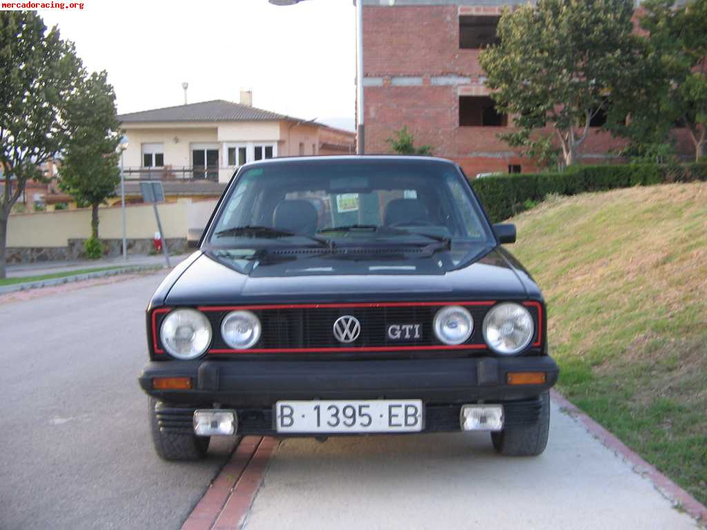 vendo golf gti serie 1 venta de veh culos y coches cl sicos. Black Bedroom Furniture Sets. Home Design Ideas