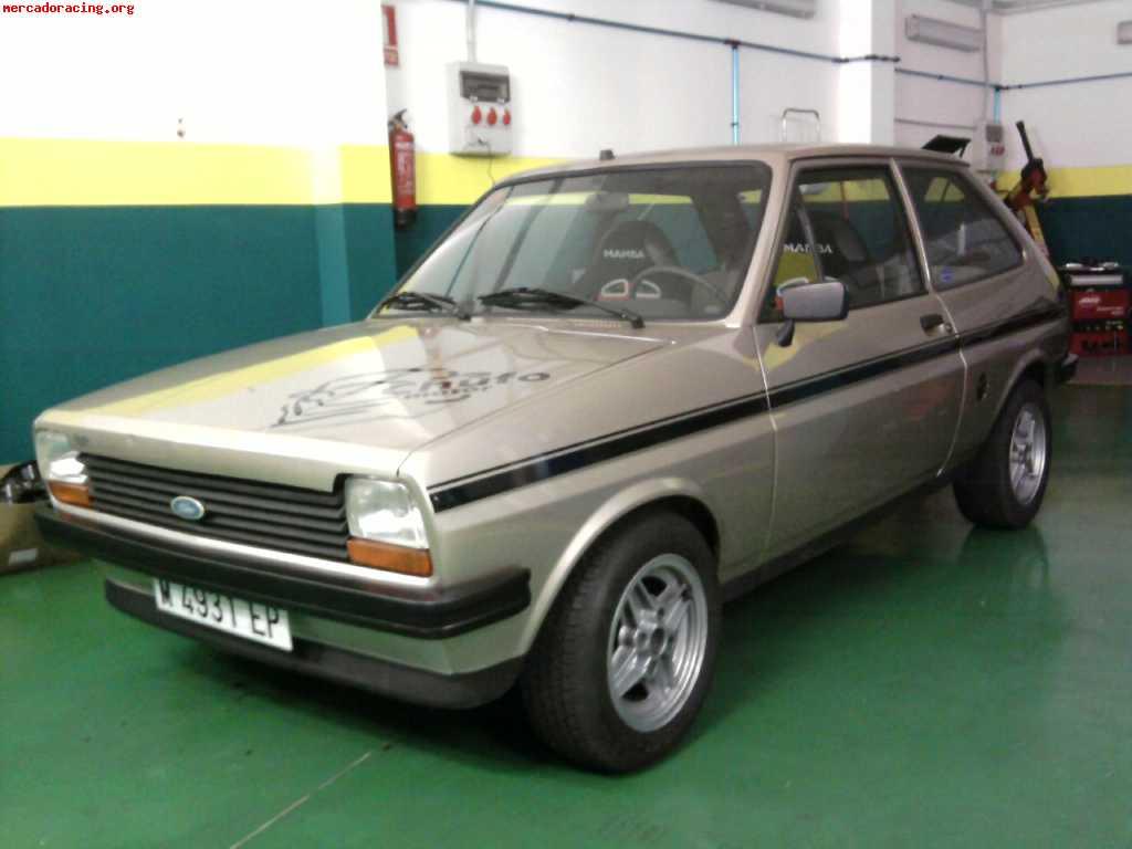 Vendo Ford Fiesta Mk1 1 300 Impecable Venta De Veh 237 Culos