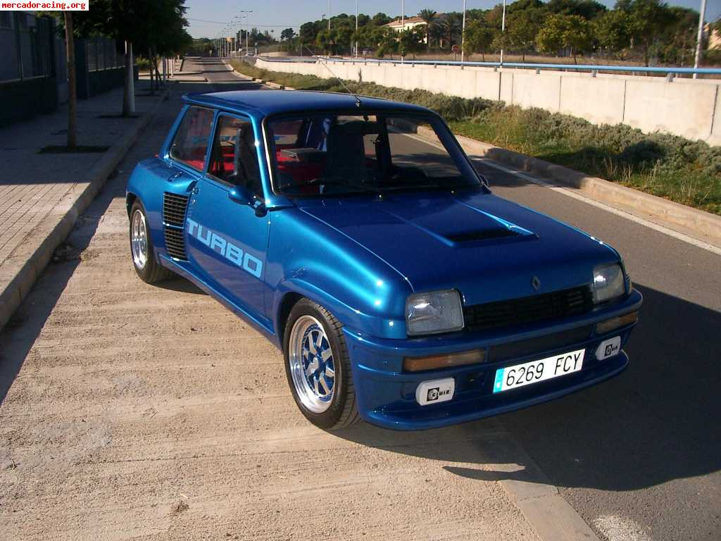 He also had a Renault 5 Turbo