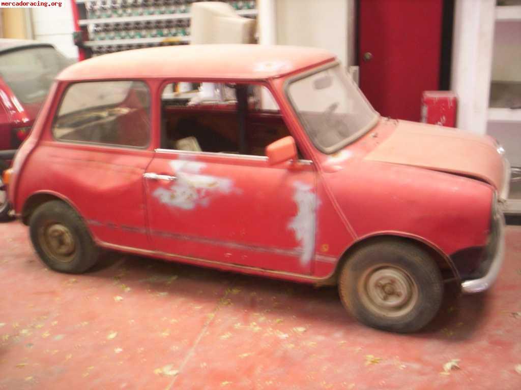 mini authi 850 de luxe para restaurar venta de veh culos On mini clasico para restaurar