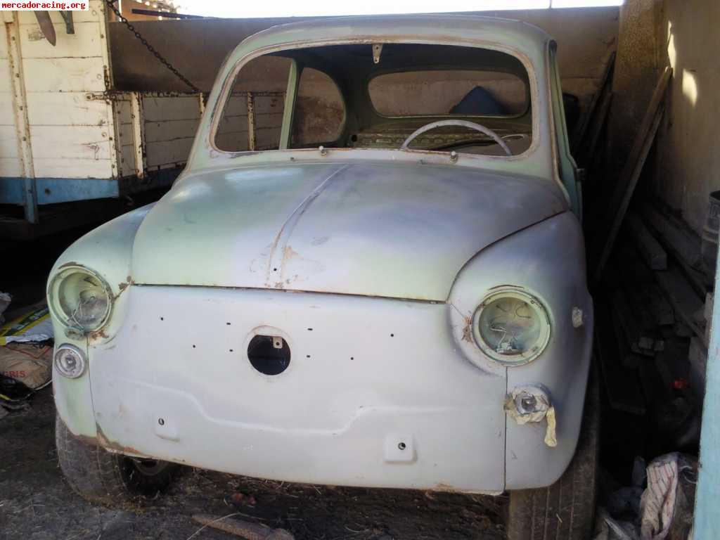 Seat 600 para restaurar venta de veh culos y coches cl sicos - Clasico para restaurar ...
