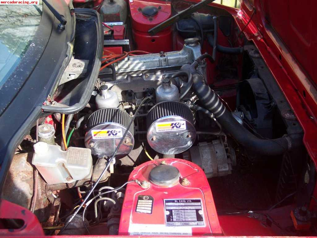Motor triumph tr7 2 0l stage 3 venta de veh culos y for Hora de escape oviedo