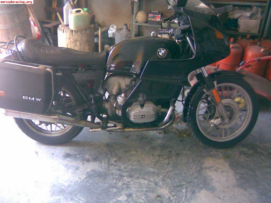 Bmw r100rt vendo o cambio por coche clasico preferible bmw for Mercado racing clasicos