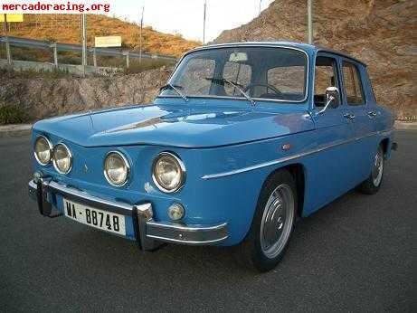 Renault 8 Ts Año 70 100x100 Original