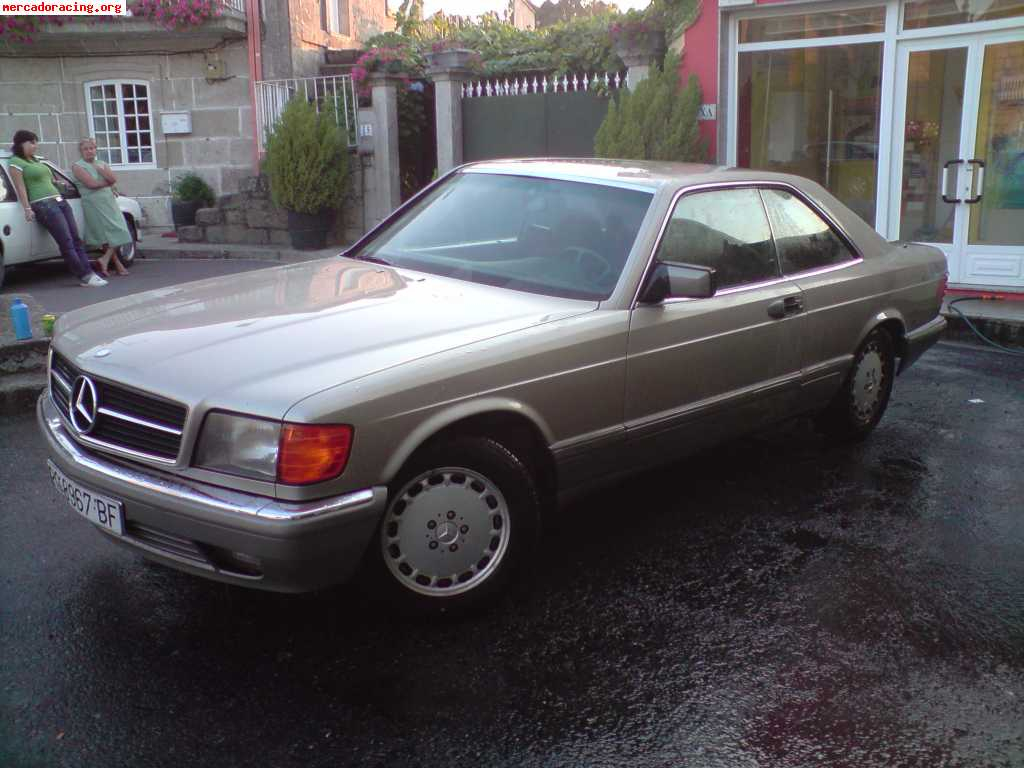 mercedes 500 sec coupe