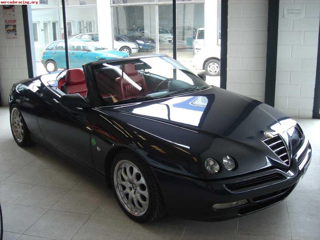 alfa romeo 916 spider a u00d1o 97 2 0 ts 16v 150cv  motor nuevo