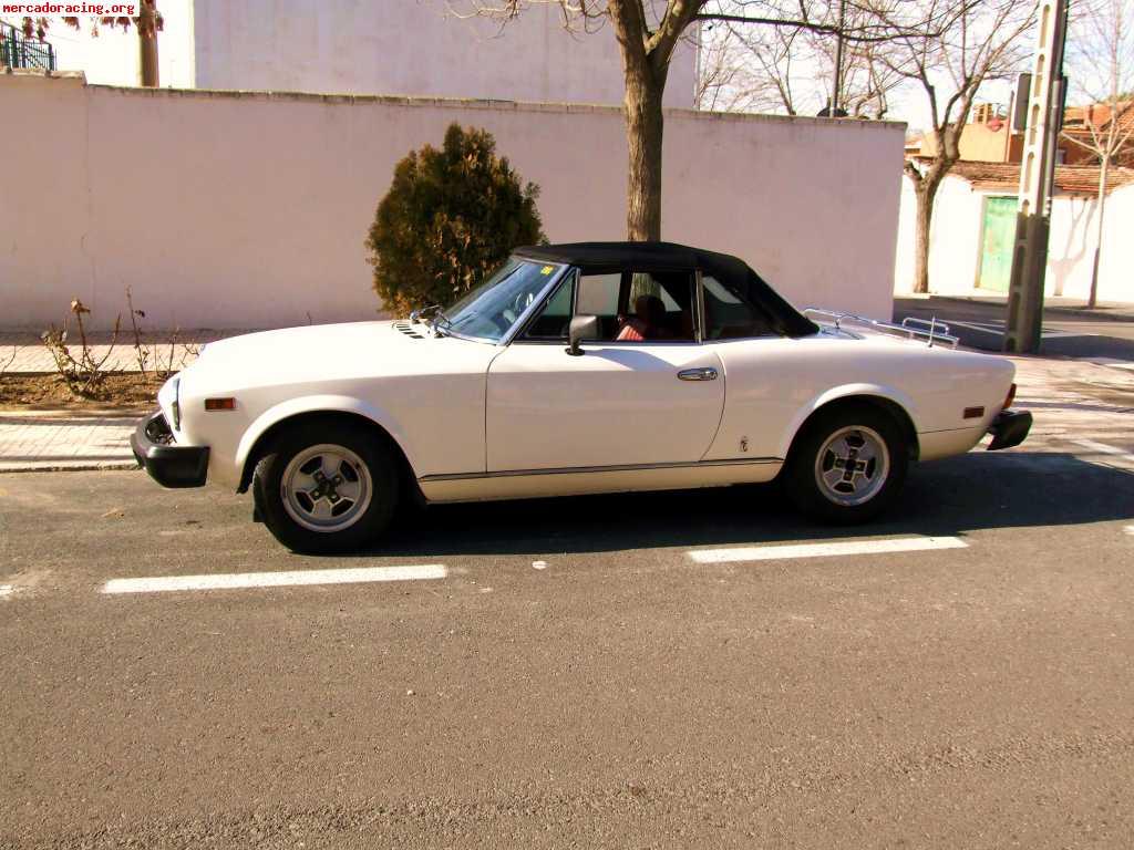 Vendo Fiat 124 Spider del 80