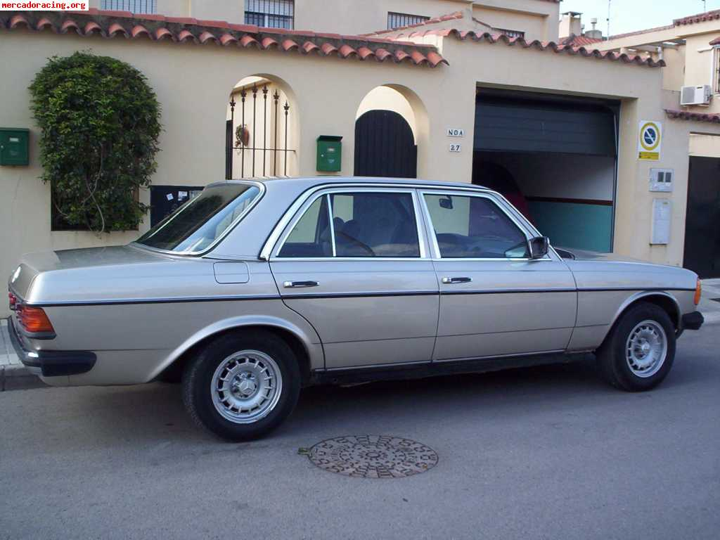 mercedes 300d w123 performance. Black Bedroom Furniture Sets. Home Design Ideas