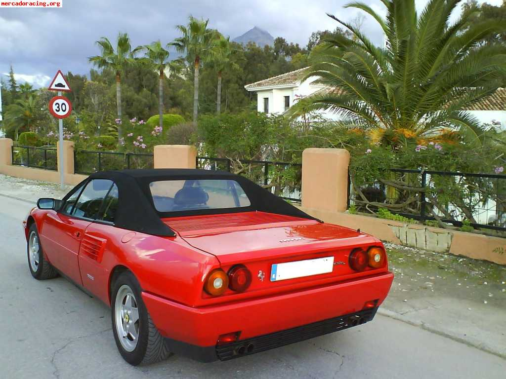 ferrari mondial t cabrio impoluto euros venta de veh culos y coches cl sicos. Black Bedroom Furniture Sets. Home Design Ideas