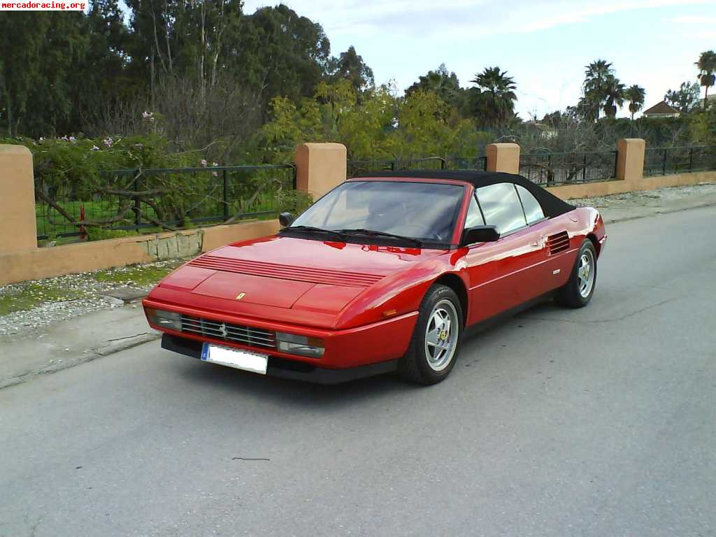 ferrari mondial t cabrio impecable venta de veh culos y coches cl sicos. Black Bedroom Furniture Sets. Home Design Ideas