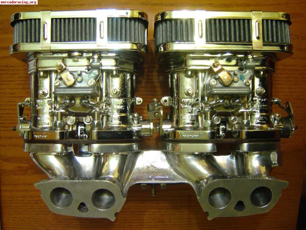carburadores weber 40 dcoe o dcom reconstruidos carburacion venta de veh culos y coches cl sicos. Black Bedroom Furniture Sets. Home Design Ideas