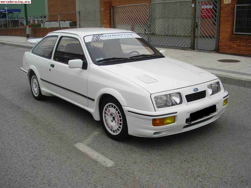 ford sierra rs cosworth performance. Black Bedroom Furniture Sets. Home Design Ideas