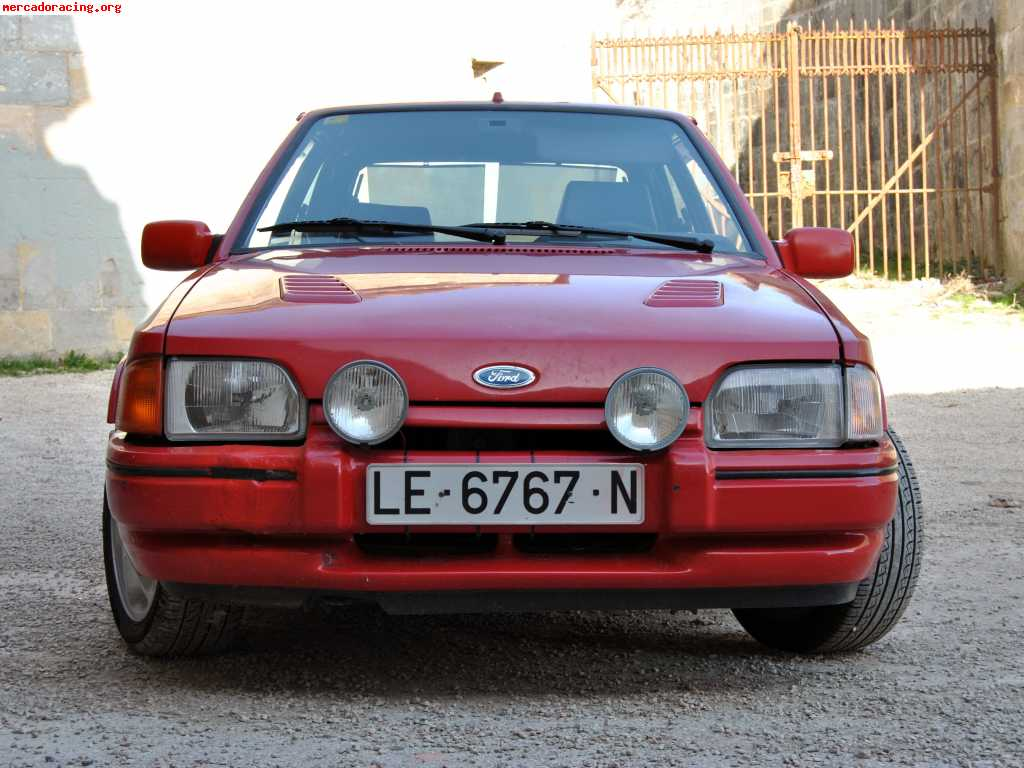 escort iii gaa 1.6 rs turbo 132cv gasolina