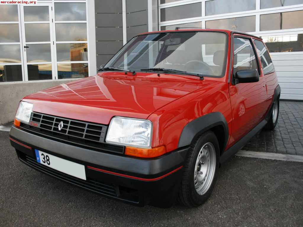 vendo renault 5 gt turbo fase 1 1985 venta de veh culos. Black Bedroom Furniture Sets. Home Design Ideas