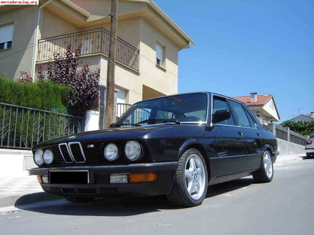 bmw 535i e28 con motor m5 e28 286cv. Black Bedroom Furniture Sets. Home Design Ideas